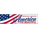 Bring Back AMERICA THE BEAUTIFUL: Bumper Sticker LCBS04